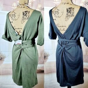 🆕️Brand New  Zara tshirt wrap dress bundle.
